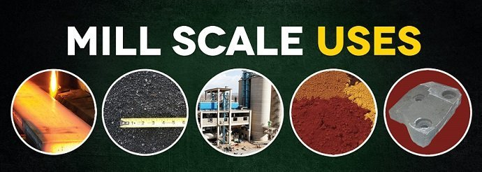Mill scale has many uses in industrial and manufacturing processes.