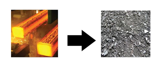 What is mill scale? It is a valuable recycled material.